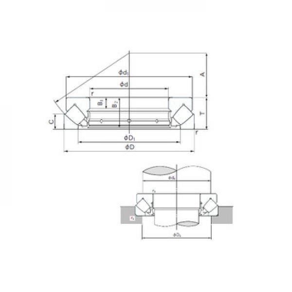 AXK 5070 SKF Підшипники тяги
