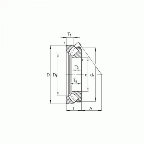 AXW 30 + AXK 3047 SKF Підшипники тяги