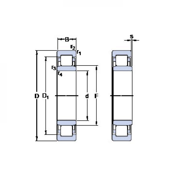 54224U+U224 CX Підшипники тяги