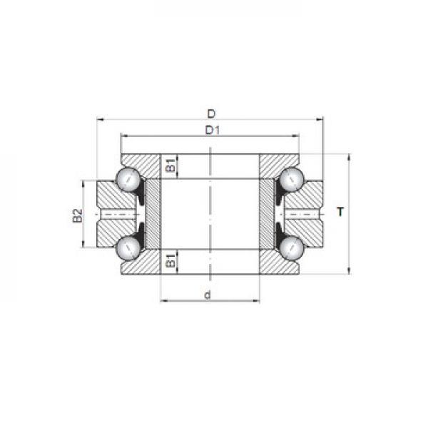 53307U+U307 ISO Підшипники тяги