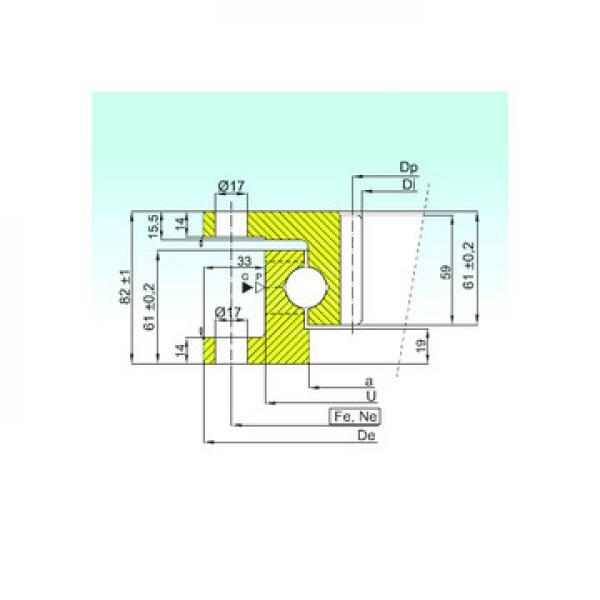 53211 U 211 ISB Підшипники тяги
