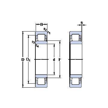 MT6 RHP Підшипники тяги