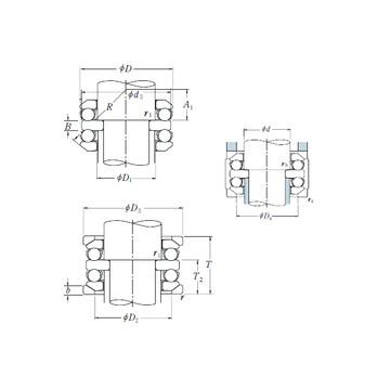 NU 236 ECML SKF Підшипники тяги