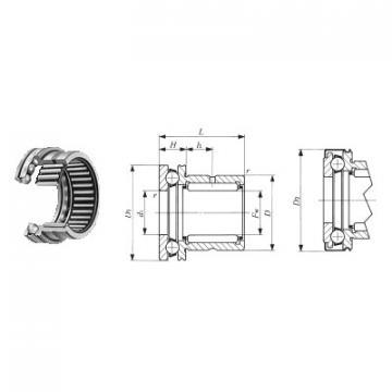 0-40 FBJ Підшипники тяги