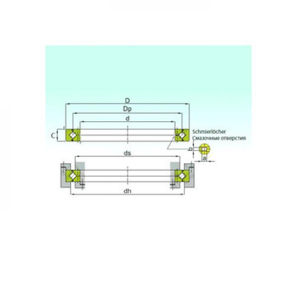 2P1608LL NTN Підшипники тяги