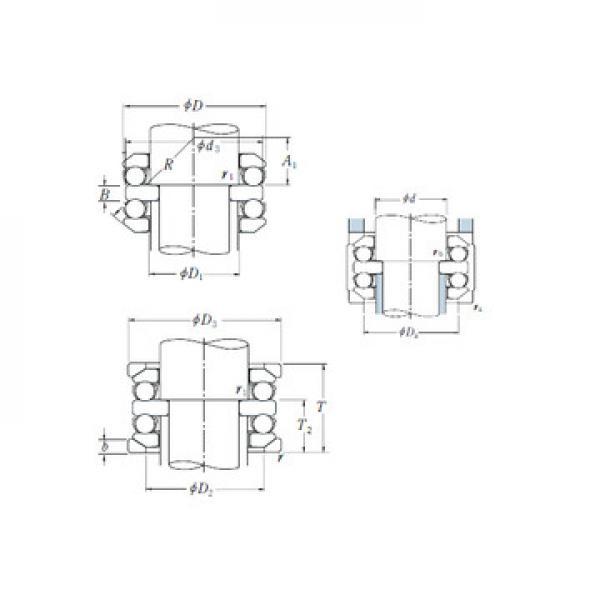 NU 2208 ECJ SKF Підшипники тяги