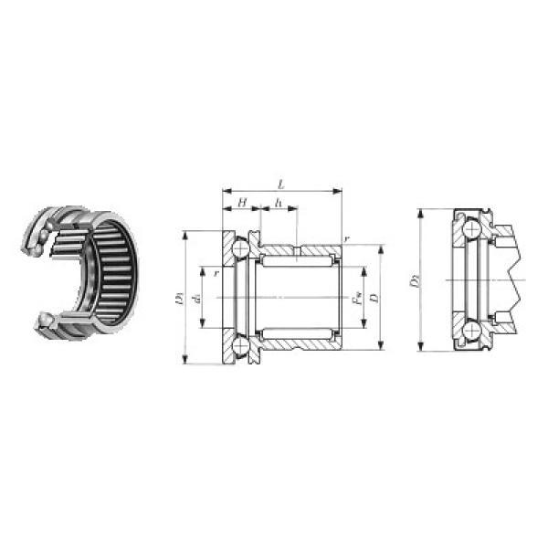234413 MSP CX Підшипники тяги